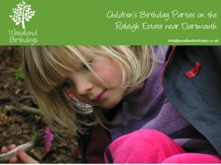 Woodland Birthdays